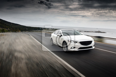Väggdekor hastighet Bil
