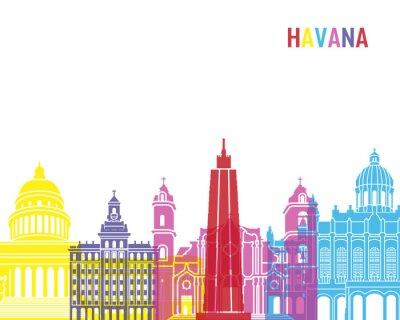 Väggdekor Havana horisont pop