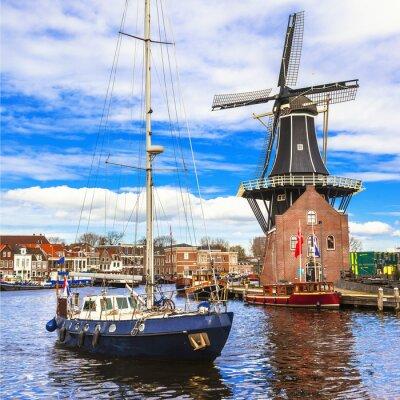 Väggdekor Holland, Haarlem