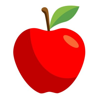 Väggdekor icono manzana