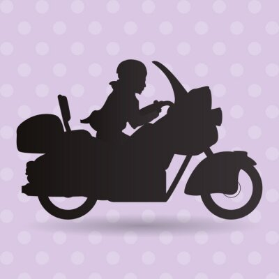 Väggdekor ikon lastbilsdesign