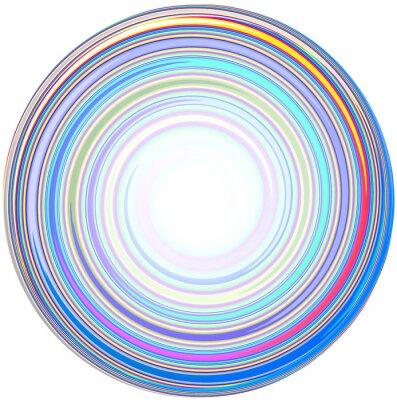 Väggdekor illustration av abstrakt Mandala