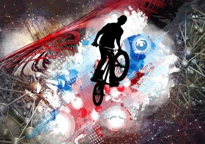 Väggdekor Illustration av cykeltröja