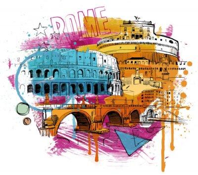 Väggdekor Inside Rome