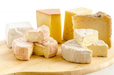 Väggdekor Internationella ostspecialiteter