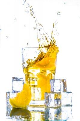 Väggdekor Iste med citron splash
