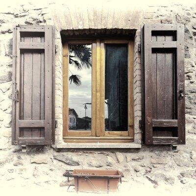 Väggdekor Italienska Window