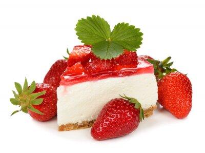 Väggdekor jordgubbscheese Cake