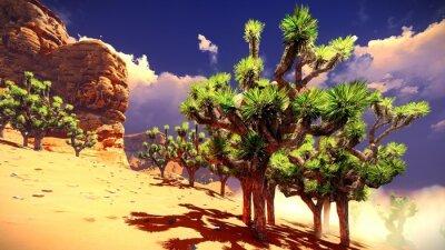 Väggdekor Joshua träd öken