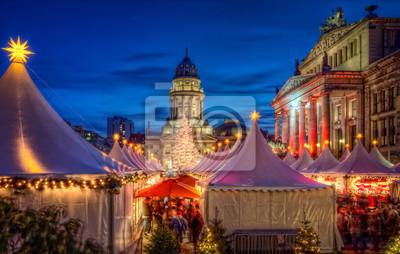 Väggdekor Julmarknad Berlin