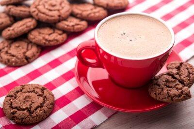 Väggdekor kaffe och kakor