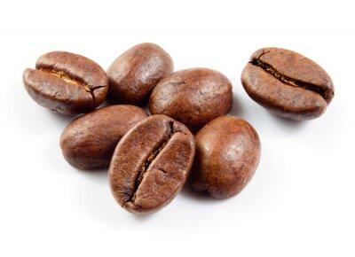 Väggdekor Kaffebönor isolerad