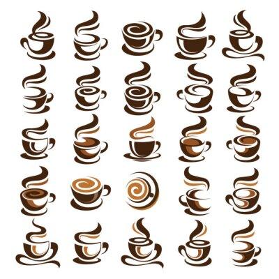 Väggdekor Kaffekopp vektor