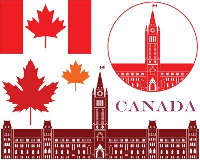 Väggdekor kanada