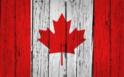 Väggdekor Kanada sjunker Grunge Bakgrund