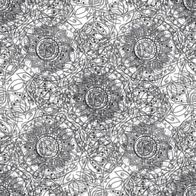 Väggdekor Kaotisk abstrakt bakgrund.