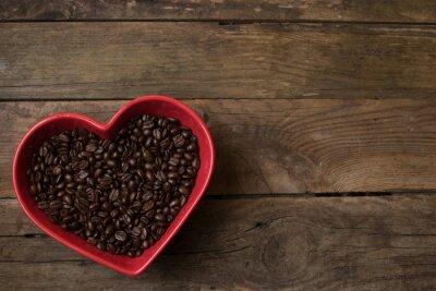 Väggdekor kärlek till kaffe,