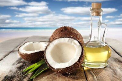 Väggdekor kokosnötter