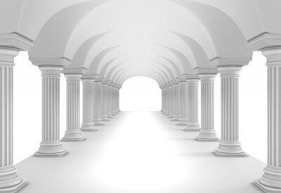 Väggdekor kolonn Tunnel