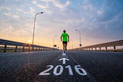 Väggdekor Kör i nytt år 2016