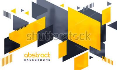 Väggdekor Kreativ abstrakt design dekorerade bakgrund.