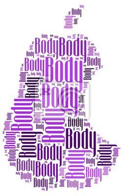 Väggdekor kropp