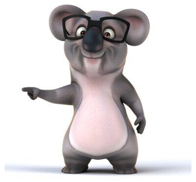 Väggdekor kul koala