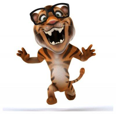 Väggdekor kul tiger