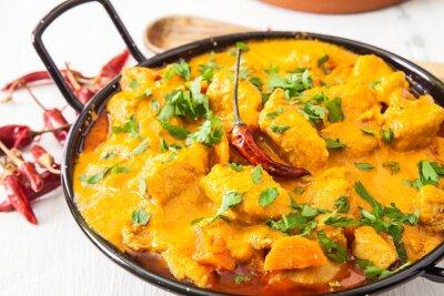Väggdekor kyckling curry