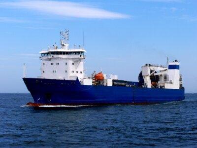 Väggdekor Lastfartyg Ro-Ro