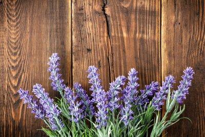 Väggdekor lavendel-