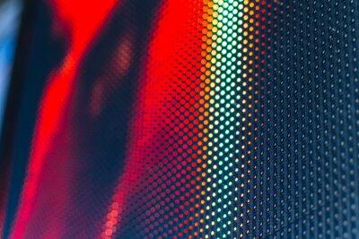 Väggdekor LED videovägg med hög mättat mönster