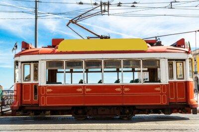 Väggdekor Lissabon spårvagn