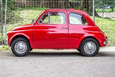 Väggdekor liten bil / liten röd bil