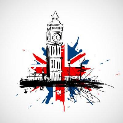 Väggdekor London!