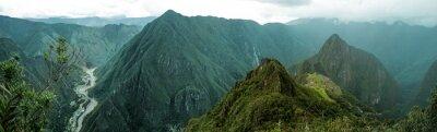 Väggdekor Machu Picchu panorama