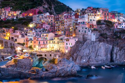 Väggdekor Manorola i Italien