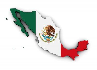Väggdekor Mexico sjunker