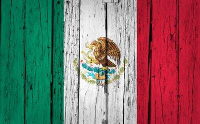 Väggdekor Mexico sjunker Grunge Bakgrund