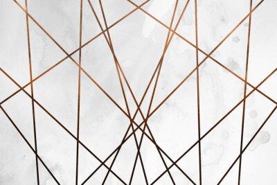 Väggdekor Modern modern krämig kopparbakgrund. Lyxig girlig konsistens. Läcker och ren bakgrund med geometriska och konstnärliga inslag.
