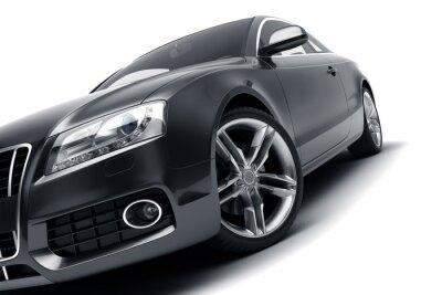 Väggdekor Modern svart bil