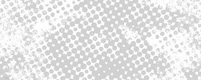 Väggdekor Monokrom grungebakgrund av fläckar halvton