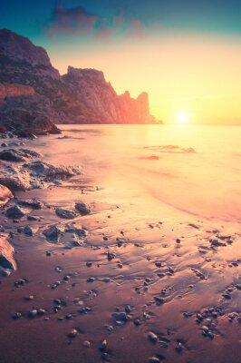 Väggdekor Morgon på havet