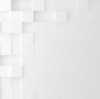 Väggdekor Mosaic kvadrat bakgrund. Abstrakt Geometrisk minimalistisk täckdesign. Vektor grafik.