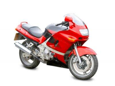 Väggdekor motorcykel isolerade