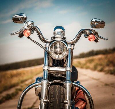 Väggdekor Motorcykel på vägen