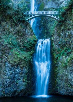 Väggdekor Multnomah nedgångar i Columbia Gorge