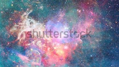Väggdekor Nebula i rymden. Kosmisk bakgrund. Delar av denna bild från NASA.