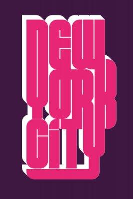 Väggdekor New York Sport slitage typografi emblem, t-shirt stämpel grafik