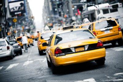 Väggdekor New York taxi